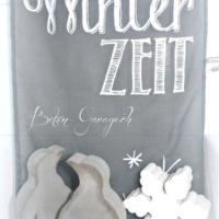Pinguine Winter Zeit