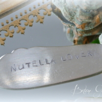 Messer Silber Nutella Lover