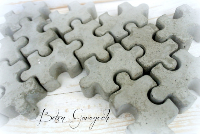 puzzleteil aus beton geschenke betonkurse giessformen. Black Bedroom Furniture Sets. Home Design Ideas