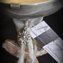 Bioetanol Brenner auf Sockel
