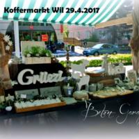 Marktstand Kofferkram Wil 29.4.17