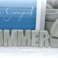 Schriftzug Sommer