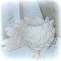 Teelicht Flügel Engel beton-garage (2)
